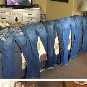 Denim - For @amber874 lot of 5 jeans